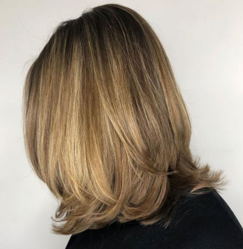 Layered Cut for Women with Thin Hair
