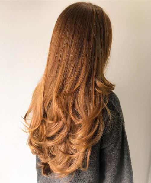 Beautiful Long Hair with Layers