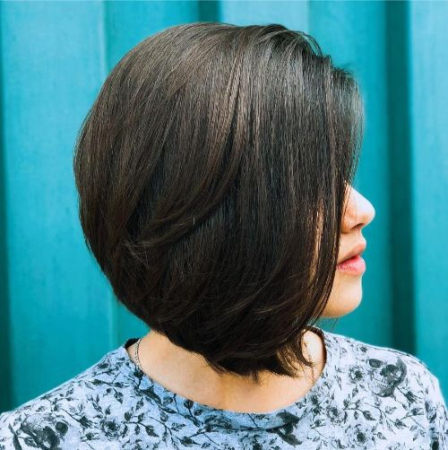 Classic Bob Haircut for Thick Hair