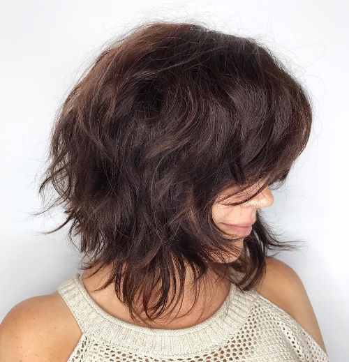 Choppy Low Maintenance Layered Haircuts For Thick Hair 9