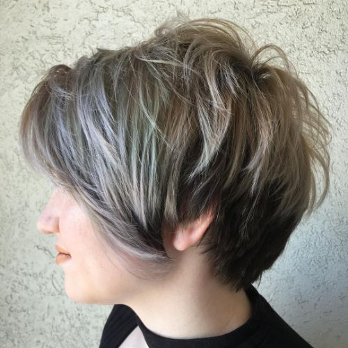 Choppy Low Maintenance Layered Haircuts For Thick Hair 101
