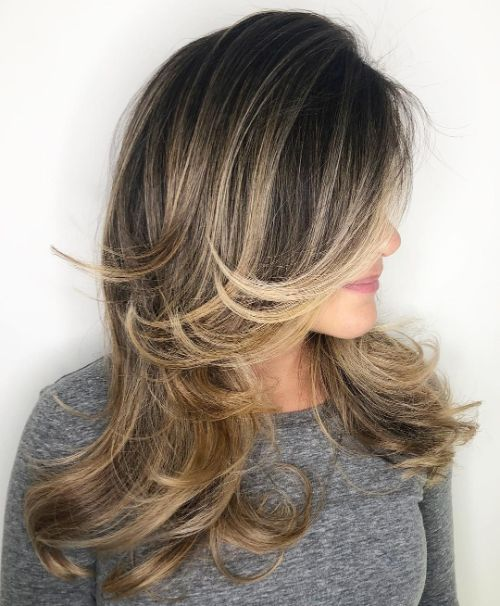 Blow Out for a Haircut with Layers