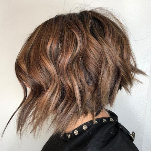 Edgy Haircut for Thick Wavy Hair