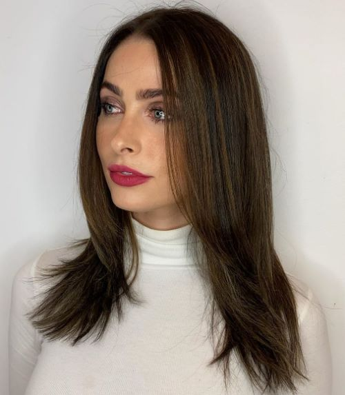 Mid Length Cut for Very Thin Hair