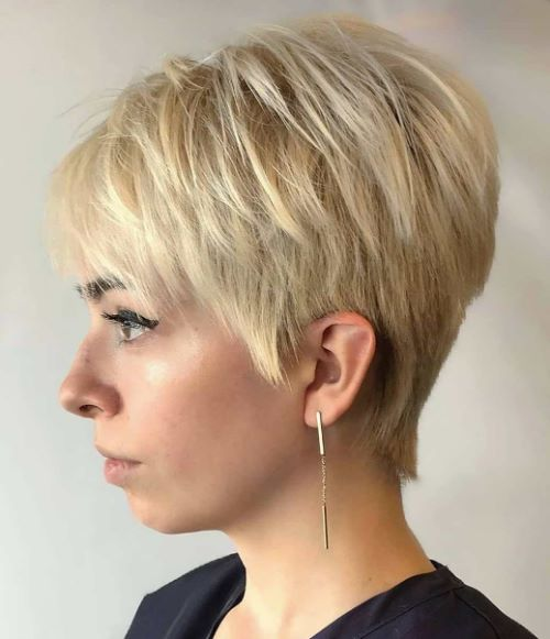 Short Cut for Thin Hair