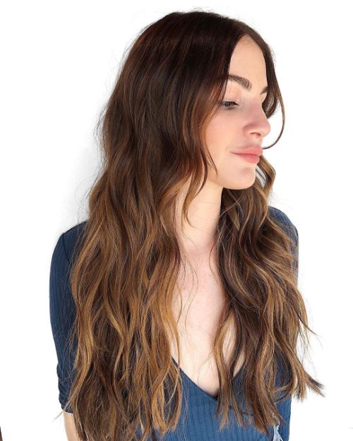 Long Haircut for Oblong Faces and Thin Hair