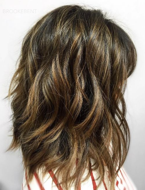 Long Layered Haircut for Thick Hair