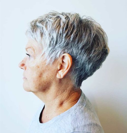 Salt-and-Pepper Textured Taper