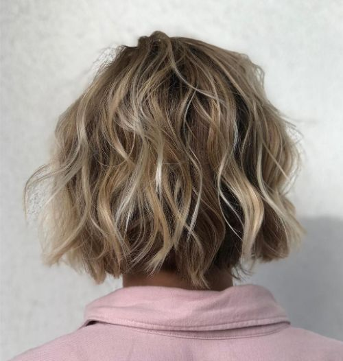 Curly Bob for Fine Hair