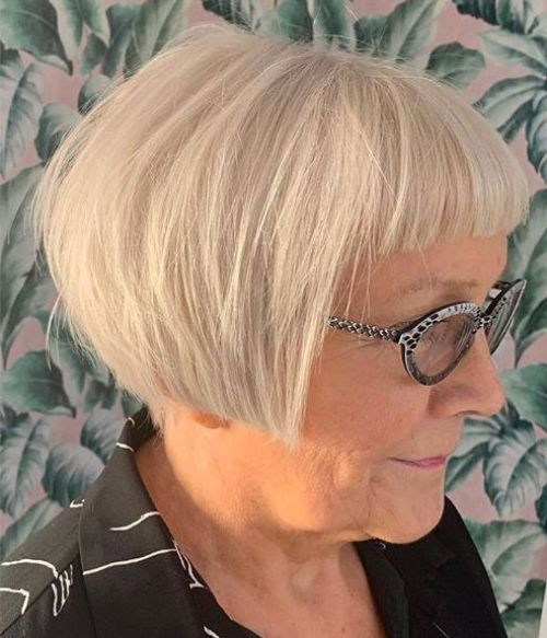 Geometric Pixie Bob for Older Women
