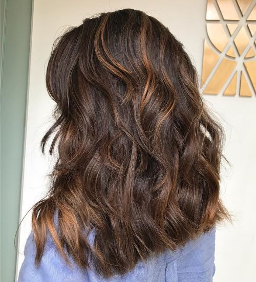 Mid Length Layered Hairstyles For Thick Hair 46