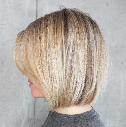 Blunt Bob with Feathered Layers