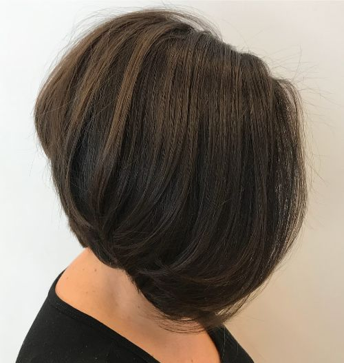 Feminine Haircut for Thick hair