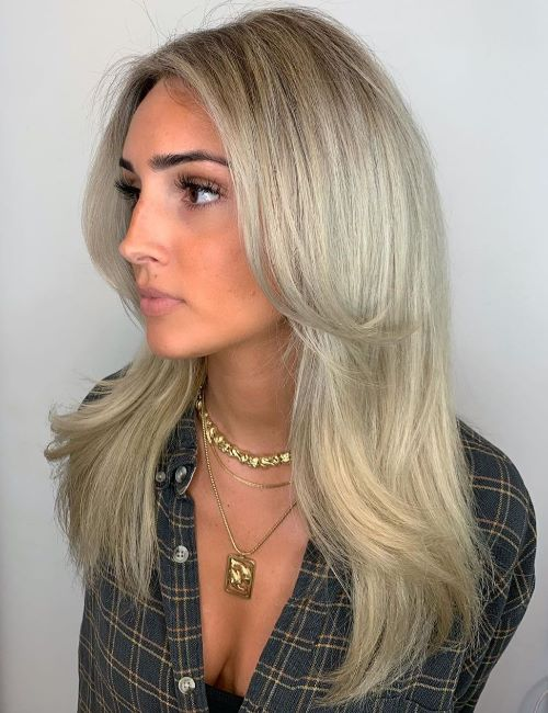 Long Hairstyle with Wispy Layers