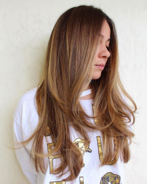 Long Hair with Piece-y Layers