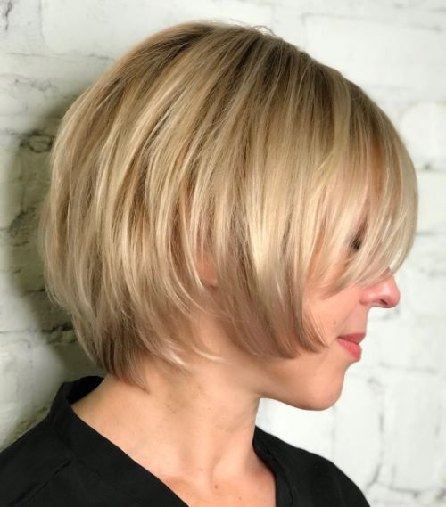 Neck Length Layered Cut