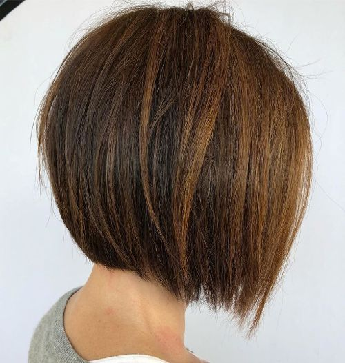 Inverted Bob for Fine Hair
