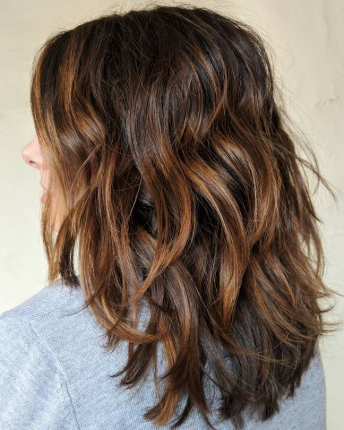 Choppy Low Maintenance Layered Haircuts For Thick Hair 25