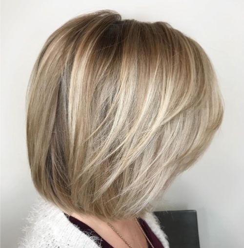 Shoulder-Length Cut with Feathered Layers