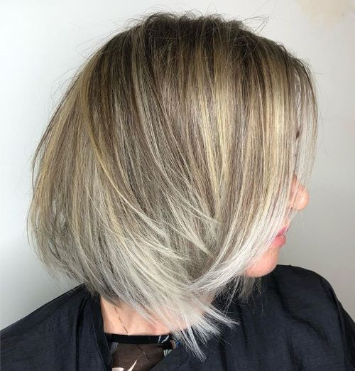 Edgy Straight Neck-Length Cut with Layers